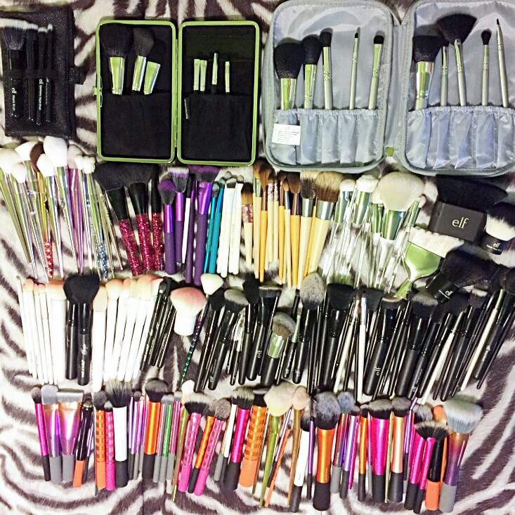 Makeup Brush Collection 2018 The